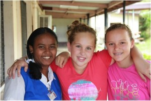 We train 'Girl Ambassadors' to generate awareness in their schools about how educating girls can break cycles of poverty, and they run fundraisers.